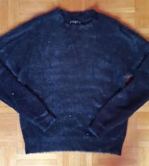 Mohito puha szőrös-flitteres pulcsi