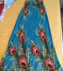Gyönyörű selyem puha ruha