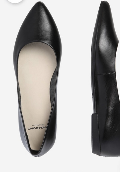 Vagabond bőr balerina cipő