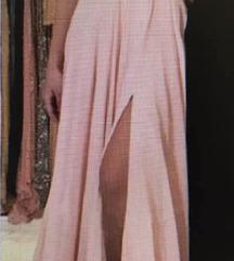 Púder rózsaszín alkalmi ruha
