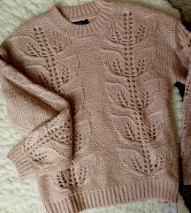 f&f púder kötött pulóver cimkés