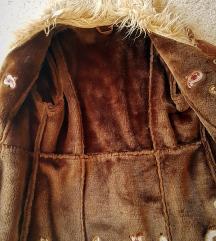 Hippi stílusú műbőr kabát