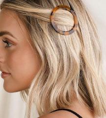 leopárd mintás hajcsat