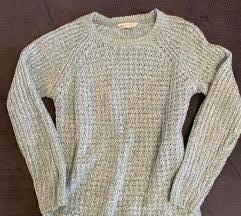 Türkiz pulóver