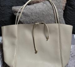 H&M bézs táska