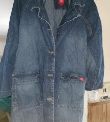 L-es kék esprit farmer kabát