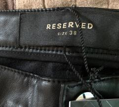 Reserved bőr nadrág