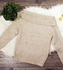 Új nyitott vállú pulóver
