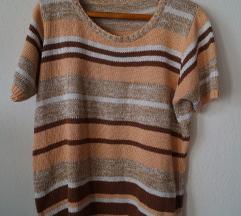 rózsaszín kötött póló/pulcsi