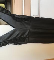 Zara bőr ruha CIMKES