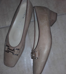 Drapp minőségi bőrcipő,41,új
