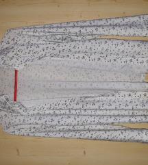 Virágos műszálas ing