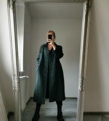 Oversized midi kabát M/L 💚