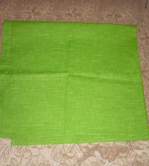 Élénk zöld pamutvászon anyag - 90x80 cm