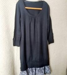 Kötött fekete ruha