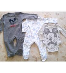 Disney Mickey egér baba ruha szett 6-12 hó
