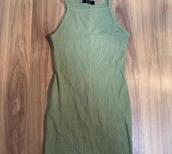Bershka zöld ruha