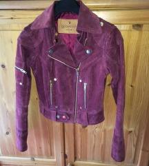 Igazi bőrből készült dzseki