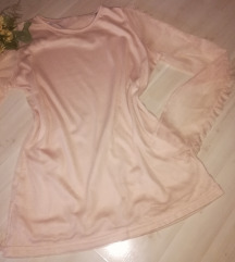 Romantikus rózsaszín tüll felső