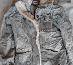 Khaki farmer kabátka