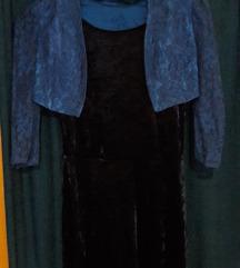 H&M divided M-es ruha + Csipkés boleró.