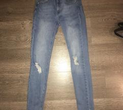 Szaggatott Skinny Jeans