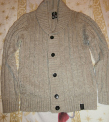 Szuper kötött férfi pulcsi