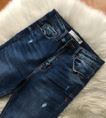 Stradivarius super high waist farmer