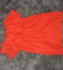 Élénk narancs ruha