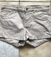 H&M homokszínű short