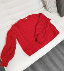 Piros extrameleg pulóver