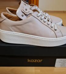 Új KAZAR platform 38 bőr cipő