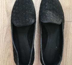 Graceland fekete köves loafer/balerina