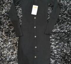 Új címkés vállkidobós Sinsay bodycon ruha