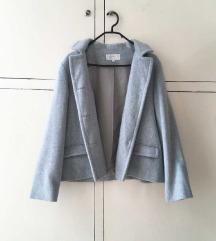 Kékesszürke kabát
