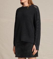 ALLSAINTS designer pulóver, különleges ujjal