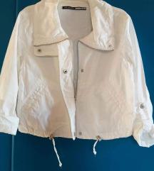 Fehér nyári dzseki, kardigán