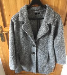 Vékony teddy coat kabát