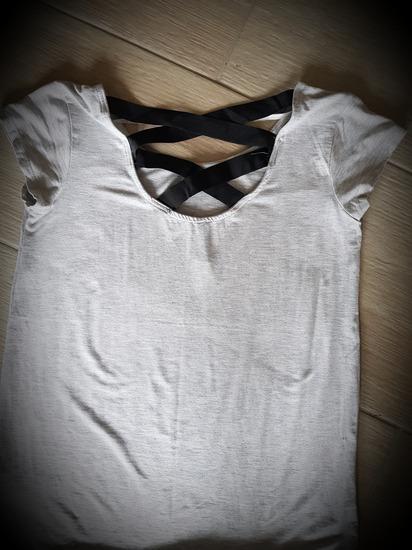 Világos szürke póló