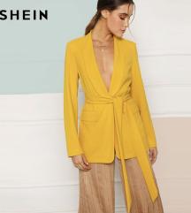 LEÁRAZVA! SHEIN sárga kimono/blézer
