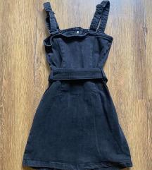 Bershka fekete farmerruha