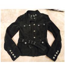 20. Fekete kordbársony kabát