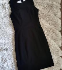 H&M fekete alkalmi ruha XS