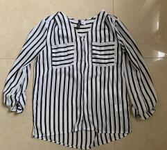 H&M elegáns csíkos ing új XS blúz