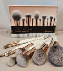 BH Cosmetics Marble Luxe Brush Set