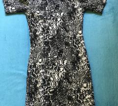 H&M miniruha fekete-feher 36-os