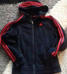 Fekete piros Adidas felső S
