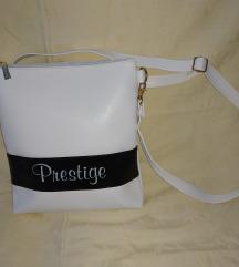 Prestige fehér válltáska.