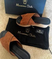 Új bőr Massimo Dutti platform szandál