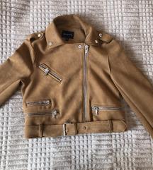 Fordított bőr kabát